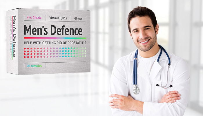 Men's Defence: stručni tretman za prostatitis